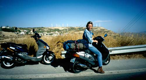 Crete: Travel with Scooters