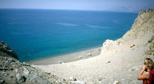 Crete: Beach of Agios Pavlos