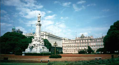 Argentina, Buenos Aires: The President's Palace