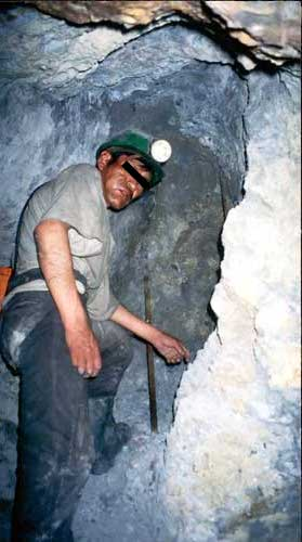Bolivia, Potosi: Mine Worker