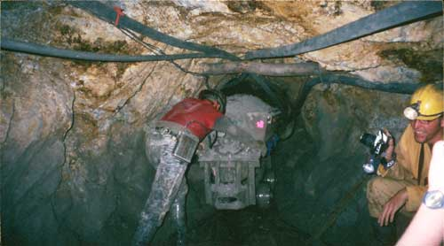 Bolivia, Potosi:  Mine Trolley