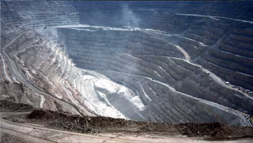 Chile: The Copper Mine Chuquicamata
