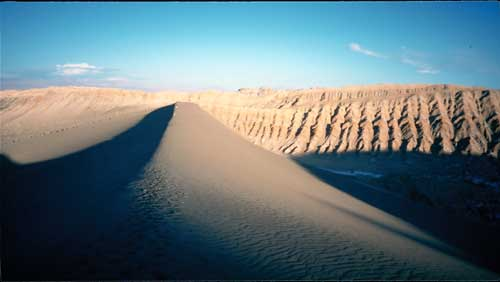 Chile, San Pedro: The great sand dune