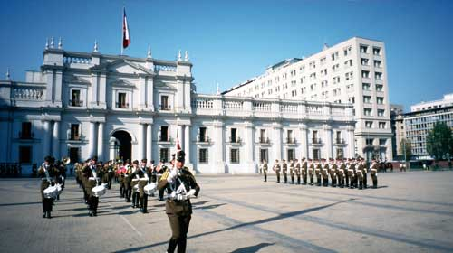 Chile, Santiago: La Moneda