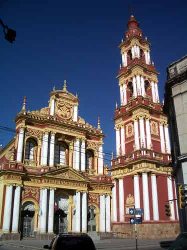 Argentina: Church in Salta