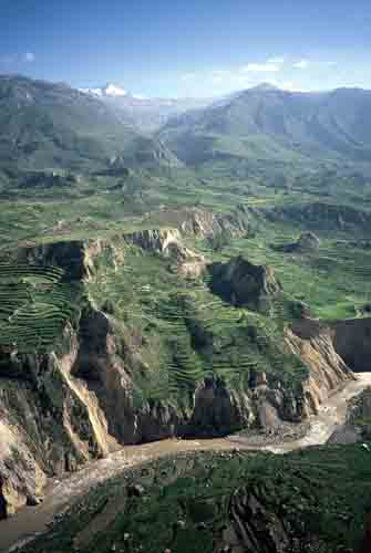 Peru: The ancient terraces of Colca<br />         Canyon