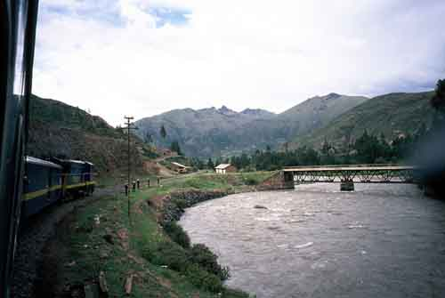 Peru: Train from Puno to Cusco