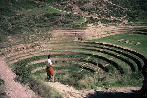 Peru, Valle Sagrado (Sacred Valley of the Incas): Moray