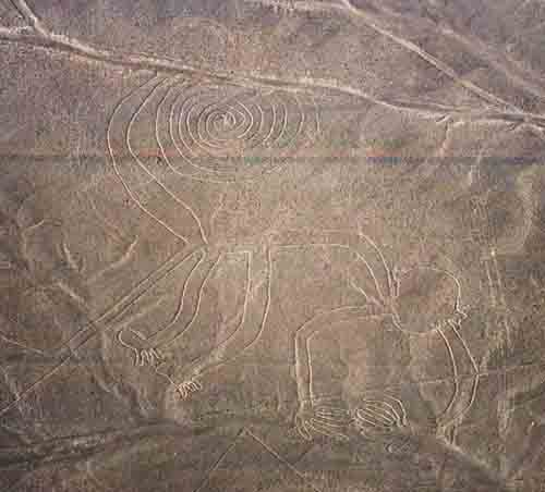 Peru: Nazca Lines - The Monkey