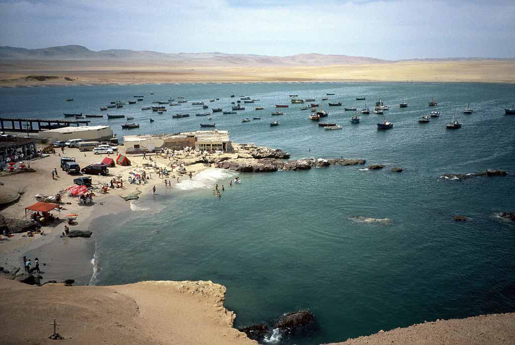 Travelogue Peru 2006 Paracas Islas Ballestas Volker