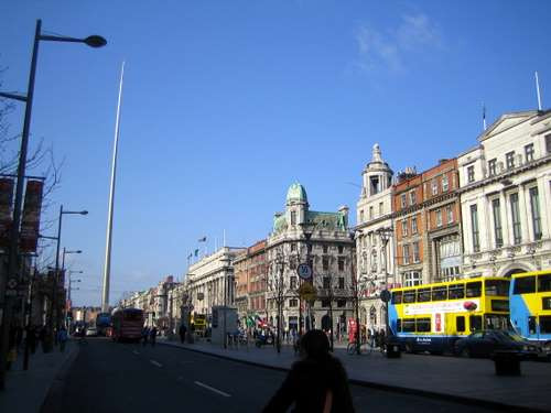 Irland, Dublin: O'Connell Street